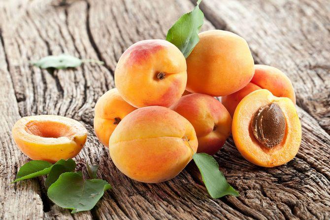 Абрикосовая косточка составляет около четверти размера плода