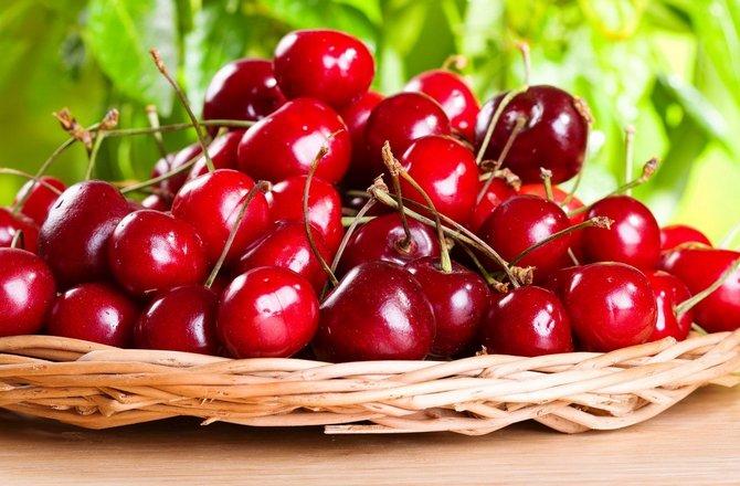Использование плодов вишни