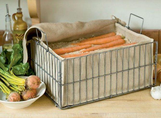 Еще несколько оригинальных способов хранения моркови