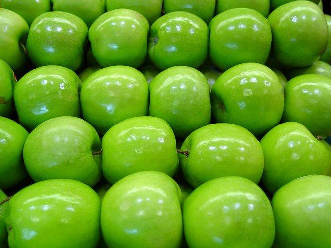 Обработка яблок перед хранением