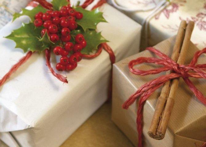 Оригинальные упаковки подарков