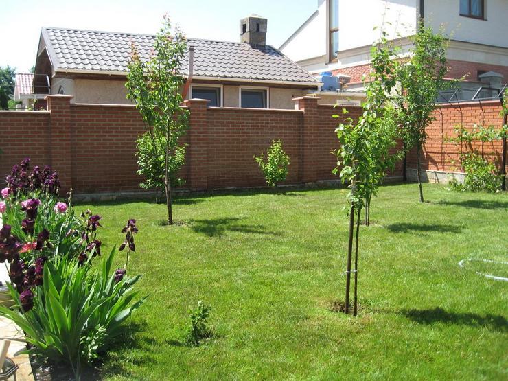 Принципы соединения плодовых и декоративных культур в саду