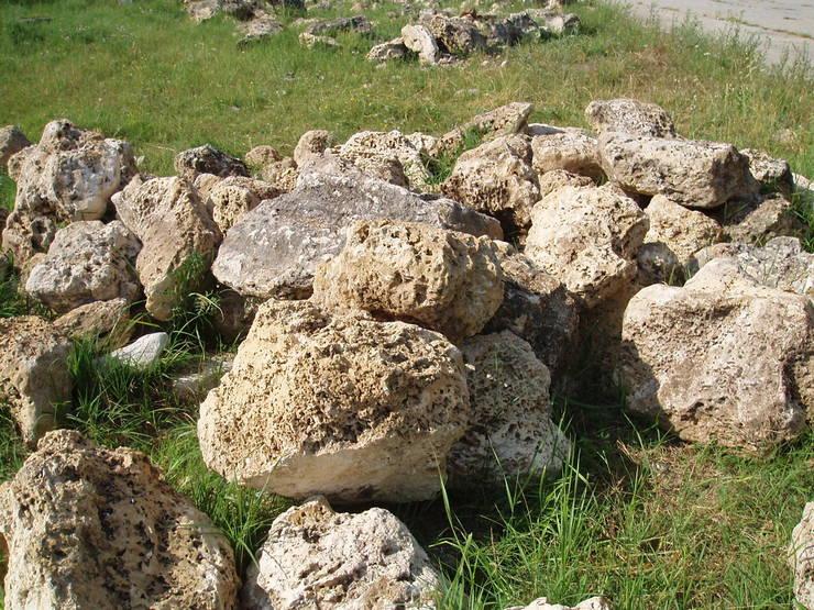 Для воплощения проекта в жизнь потребуется множество различных природных камней